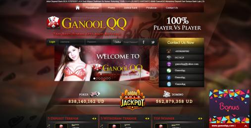 GanoolQQ | Situs Judi Online Terpercaya | Domino 99 – Neko Seo